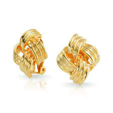 simple earrings design fashion top design light weight simple gold earring designs for