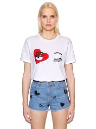t shirt originale chiara ferragni abbigliamento t shirt originale autentica licenza