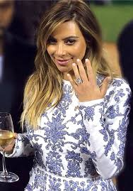 engagement rings that are not diamonds s engagement ring kanye wanted the to