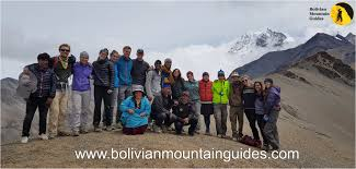 bolivian mountain guides discover the bolivian mountains with us