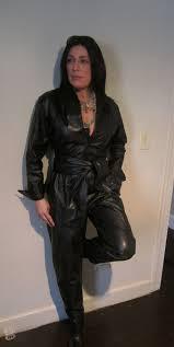 leather jumpsuit ebay leather vintage 1980s black leather jumpsuit