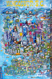 Vancouver Canada On World Map by The 12 Best Images About Illustrated Maps On Pinterest Canada