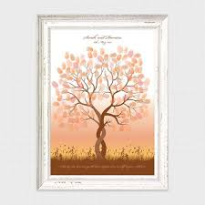 180 best fingerprint guest book trees and more images on pinterest