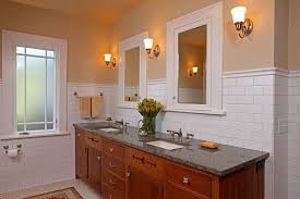Craftsman Bathroom Vanities by Minneapolis Decorative Wall Tiles Bathroom Craftsman With White