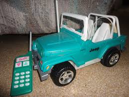 jeep barbie barbie remote control jeep in offering u0027s garage sale orlando fl