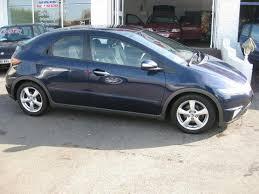 2 2 diesel honda civic used honda civic 2008 diesel 2 2 i ctdi es 5dr hatchback blue