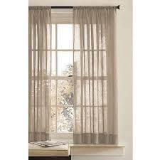 Washing Voile Curtains Better Homes And Gardens Canopy Crushed Voile Curtain Panel