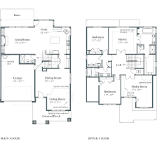 Floor Plan And Elevation Drawings by Vermont Arbor Homes Home Builders Oregon