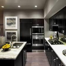 Black Galley Kitchen - gray galley kitchen photos hgtv