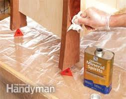 7 Techniques For Finishing Beech Woodworking Projects by How To Get A Smooth Polyurethane Finish Family Handyman