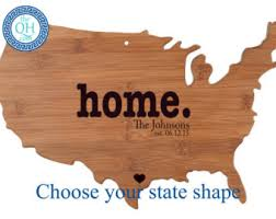 state shaped gifts state shaped gifts etsy