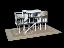 casa di luigi figini milano 1 20 modelli architettonici moa