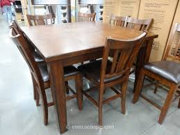 regal living chandler 9 piece counter height dining set