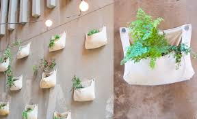Wall Hanging Planters by Green Garden Wall Grower