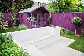 Purple Paint Law by Landscaping Small Gardens Landscaped Garden Design Idea Landscape