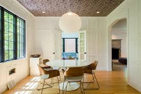 dining room ceiling ideas 27 splendid wallpaper decorating ideas for the dining room