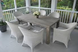 Diy White Dining Room Table Dining Room White Simple Square Cedar Outdoor Dining Table