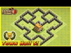 coc village layout level 5 clash of clans th6 defense coc town hall 6 farming base layout