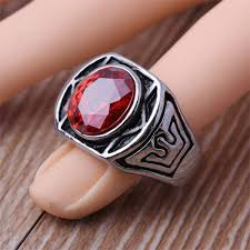 mens rings for sale 316l stainless steel fashion cubic zirconia finger rings for men