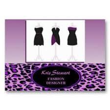 Business Card Fashion Designer Fashion Designer Business Card Back Designed By Me At Nic U0027s