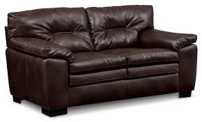 magnum sofa loveseat and chair set brown value city furniture