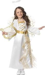 free dress pattern and tutorial for an angel costume in sizes 2 3