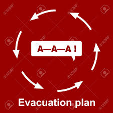 Fire Evacuation Floor Plan 4 425 Evacuation Stock Illustrations Cliparts And Royalty Free