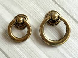 antique looking cabinet hardware antique bronze dresser pulls drawer pull handles drop ring pulls