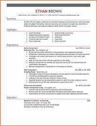 Good Resume Examples For Retail Jobs Example Of A Perfect Resume Accountant Resume Sample My Perfect