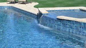 southeastern backyard fiberglass tanning ledge by leisure pools usa