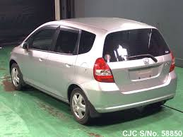 2001 honda fit jazz silver for sale stock no 58850 japanese