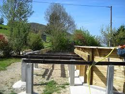 terrasse suspendue en bois terrasse bois autour piscine hors sol dootdadoo com u003d idées de