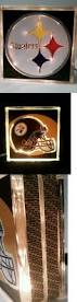 handcrafted home decor other handcrafted home accents 160657 lighted pittsburgh steelers
