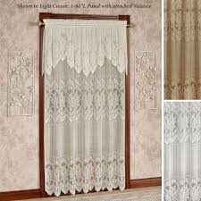 Battenburg Lace Curtains Panels Curtains Grey Lacertains Touch Of Class Gray Swagrtain