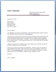 examples of cover letter for resume my document blog