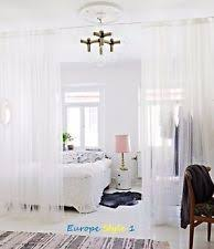 98 Drapes Ikea Vivian 2 Pair Of Curtains Drapes 4 Panels Total White Almost