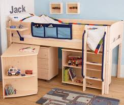 Midi Bed With Desk Mid And High Sleepers Junior Rooms