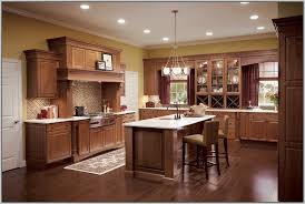 breathtaking kitchen colors with dark cherry cabinets best wall
