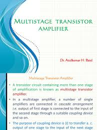 Transformer Coupled Transistor Amplifier Schematic Multistage Transistor Amplifier Amplifier Transformer