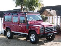 used red land rover defender for sale dorset