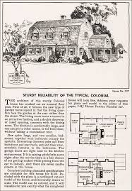 colonial revival house plans 1935 colonial revival house plan home journal
