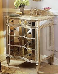 Mirrored Bathroom Vanity by Afton Mirrored Vanity With Sink Traditional Bathroom Vanities And