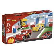 lego duplo disney cars race play walmart