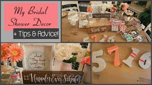 Bridal Shower Decor by My Bridal Shower Decor Plus Tips U0026 Advice Youtube