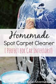 Homemade Upholstery Shampoo Best 25 Homemade Upholstery Cleaner Ideas On Pinterest Diy