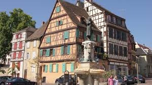 colmar alsace france tourist office the roesselmann fountain