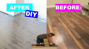 Cheap Wood Laminate Flooring Diy Project Trip To Home Depot Chalk Painting Floors