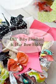 diy baby hair bows diy baby headband hair bow holder ad gerberpurewater walmart
