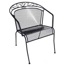 wrought iron low back patio chair patio pinterest wrought