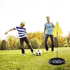 amazon com franklin sports backyard foot golf set sports